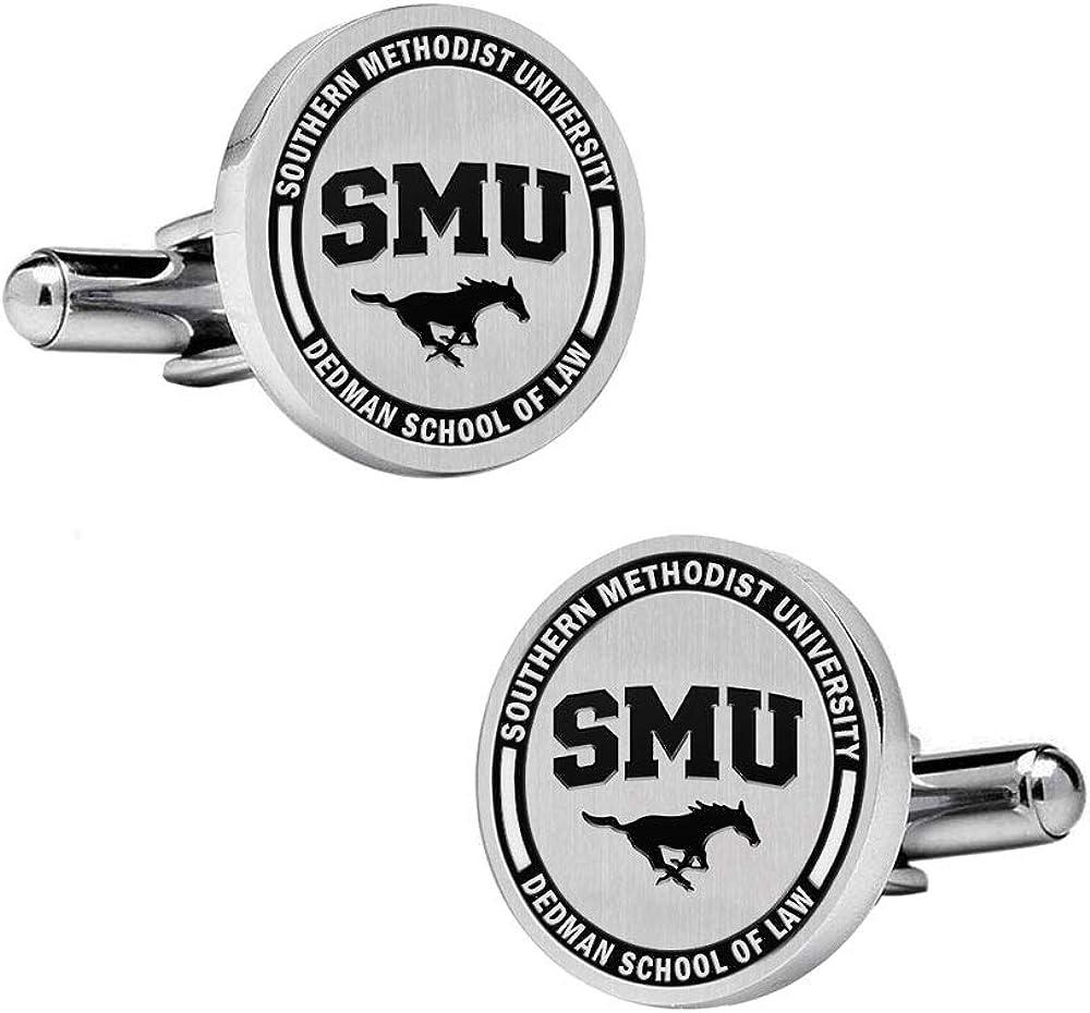 Southern Methodist University Cufflinks College Jewelry Dedman School of Law Cufflinks
