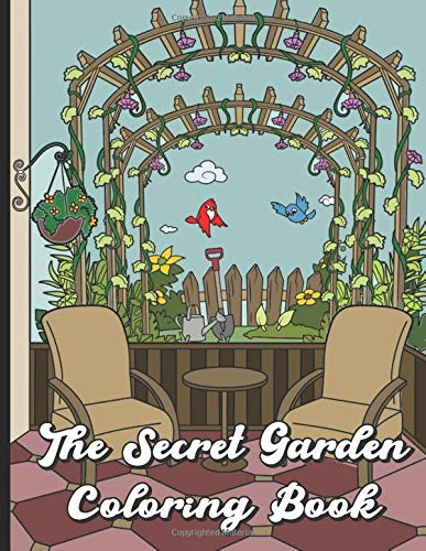 The Secret Garden Coloring Book: Find Relaxation And Mindfulness By ...
