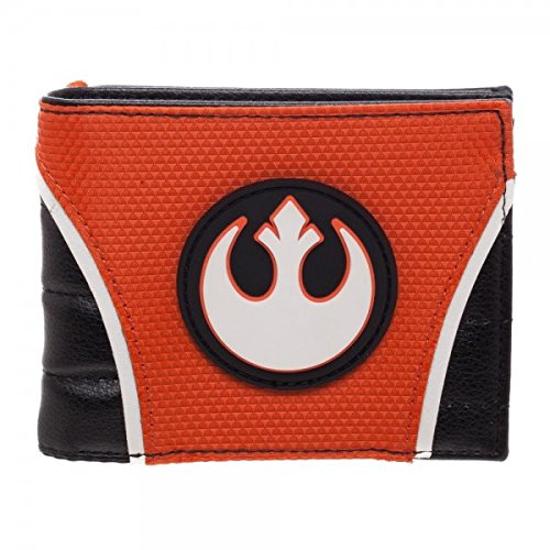 Star Wars Rebel Logo Men's PU Bi-Fold Wallet