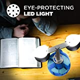 GZLEERLE Smart Touch Control Table Lamp, Eye Caring