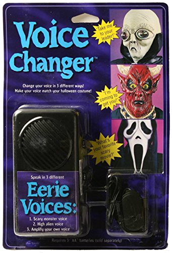 Ghostface Voice Changer as Seen in Movie Scream (Horror Movies Costumes)