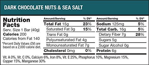 Large Product Image of KIND Bars, Dark Chocolate Nuts & Sea Salt, Gluten Free, Low Sugar, 1.4oz, 12 Count