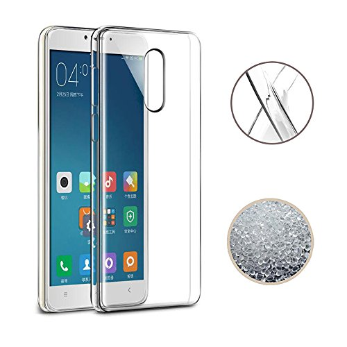 Price comparison product image Xiaomi Redmi Note 4X Case, TopACE Ultra Thin Transparent Soft Gel TPU Silicone Case Cover for Xiaomi Redmi Note 4X (Clear)