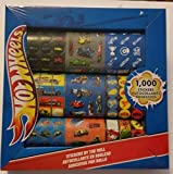1000 stickers roll - Hot Wheels Cars Stickers By The Roll Pack of 1000 Stickers