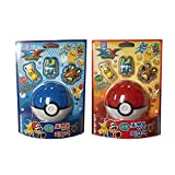Pokemon Suction Figure Monster Ball & Coin Bank (Random) : 3 Mini Figure Toys 1 Set