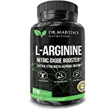 Extra Strength L-Arginine Nitric Oxide Booster | Powerful Pre Work Out Blend to Train Longer & Harder | Helps Increase Heart Health, Blood Flow, Muscle Growth, Stamina,Energy & Endurance