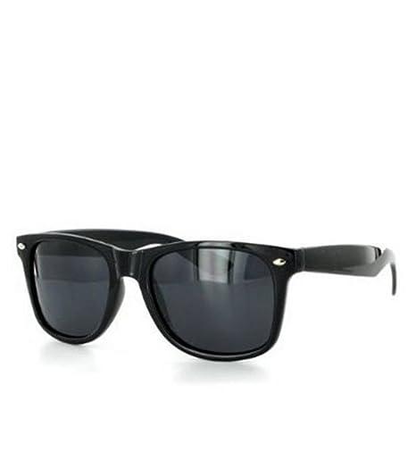 8481ea887a Amazon.com  Style Sunglasses Dark Lens Black Frame  Clothing