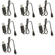 7 x Quantity of JJRC 1000 2.4GHz Lipo 3.7v USB Battery Charger any mAh Auto Shut Off w LED
