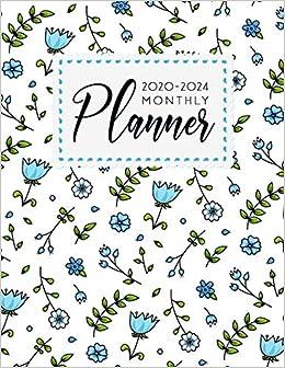 2020-2024 Monthly Planner: 2020-2024 planner. 60 Months ...