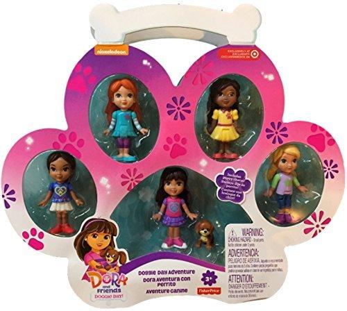 Fisher-Price Dora and Friends Doggie Day Adventure (Dora The Explorer Talking Doll)