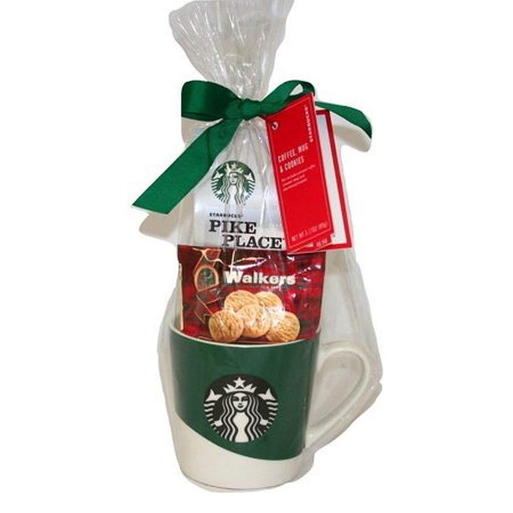 Amazon Com Holiday Starbucks Mug Gift Set Coffee And