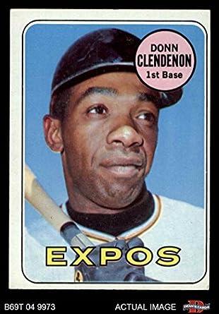 Amazoncom 1969 Topps 208 Mon Donn Clendenon Montreal Expos
