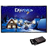 Excelvan 120 Inch 16:9 Collapsible PVC HD Portable (Small Image)