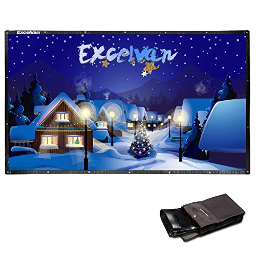 Excelvan 120 Inch 16:9 Collapsible PVC HD Portable Deal (Large Image)