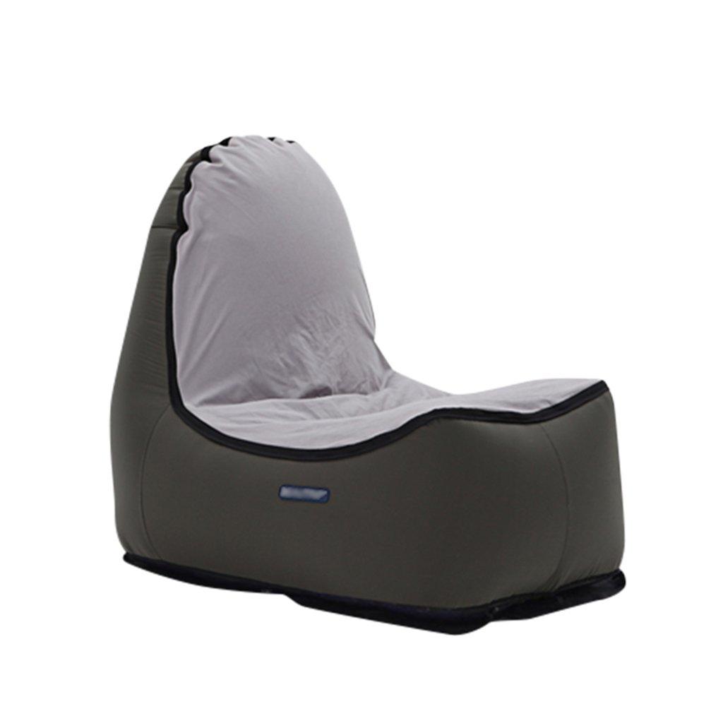 ALXC- Sofa, Lazy Air Sofa aufblasbare Outdoor Tragbare zusammenklappbare Stuhl