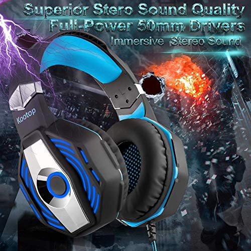 SHOPUS | Kootop Stereo Gaming Headset for Xbox one ,PS4 PC