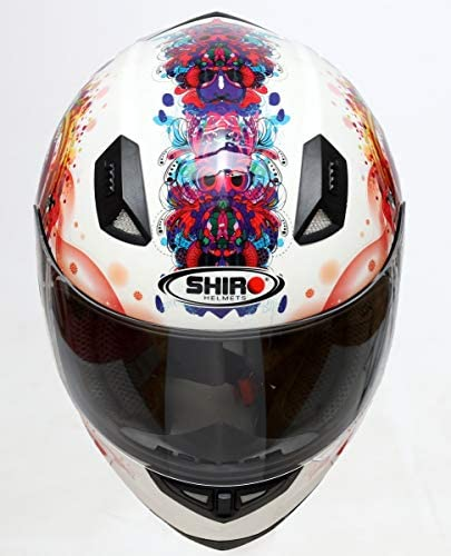 Shiro Casco SH-881 Princess Blanco (m): Amazon.es: Coche y moto