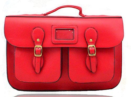 REDFOX - Bolsos niña Mujer unisex - adultos RED