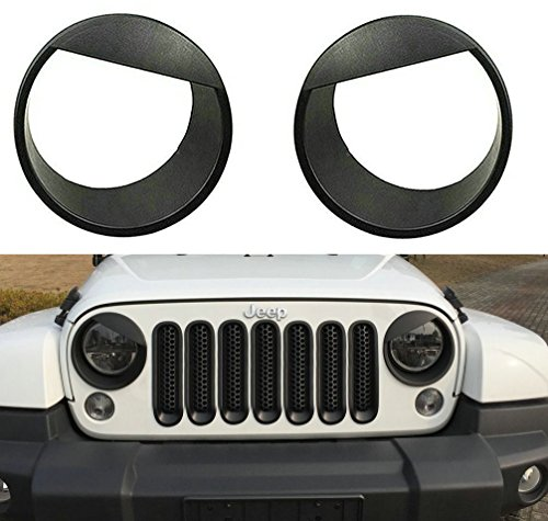 jeep headlight covers - 4