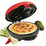 quesadilla maker santa fe - Nostalgia EQM200 6-Wedge Electric Quesadilla Maker with Extra Stuffing Latch