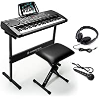 Hamzer 61-Key Portable Electronic Keyboard Piano with...