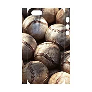 DIY 3D Case Cover for iPhone 5,5S with Customized Baseball