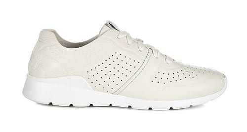 UGG Zapatos Tye Zapatillas Blanco de Cuero Mujer 40 Blanco