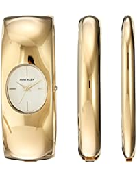 Women's Quartz Metal and Alloy Dress Watch, Color:Gold-Toned (Model: AK/2636GBST)