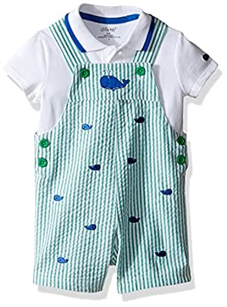 Amazon Little Me Baby Boys 2 Piece Knit Top with