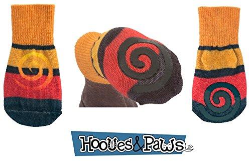 Boots Designer Dog (Ultra Paws Traction Dog Socks Designer Oakley - Set of Four (Large))