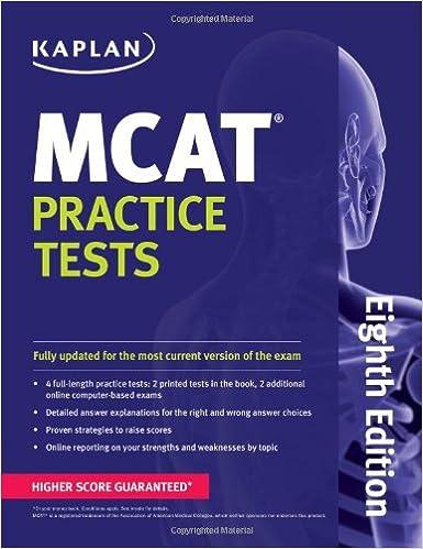 Kaplan MCAT Practice Tests (Kaplan Test Prep): 9781609789480