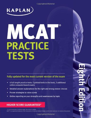 Kaplan MCAT Practice Tests (Kaplan Test Prep)