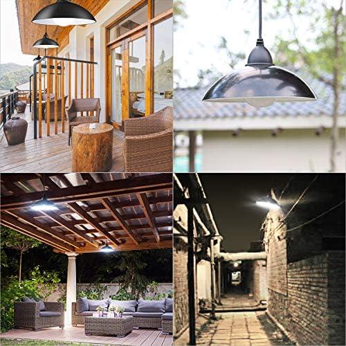 Luz Colgante Solar Exterior,Tomshine 12 LEDs Lámpara Colgante Solares Retro,Brillo Ajustable,con Control Remoto IR,IP65 Impermeable,Luces Solares Colgantes Exteriores para Jardín, Patio, Balcón: Amazon.es: Iluminación