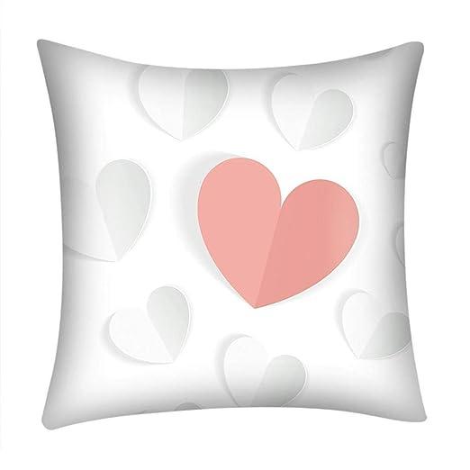 Fundas de Cojines,SHOBDW Regalo de San Valentin Imprimir ...