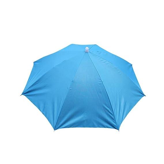 Gorra Plegable Para Paraguas Con Sombrero Para El Sol AIMEE7 Gorra De Sol Multicolor Plegable (
