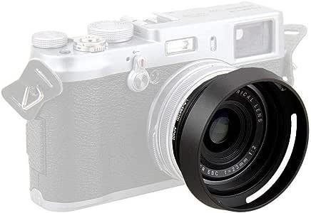 JJC LH-JX100 Black Metal Lens Hood Adapter Ring for Fujifilm X100 X100S X100T