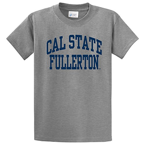 NCAA Cal State Fullerton Titans Short Sleeve Tee, X-Large, Athletic Heather