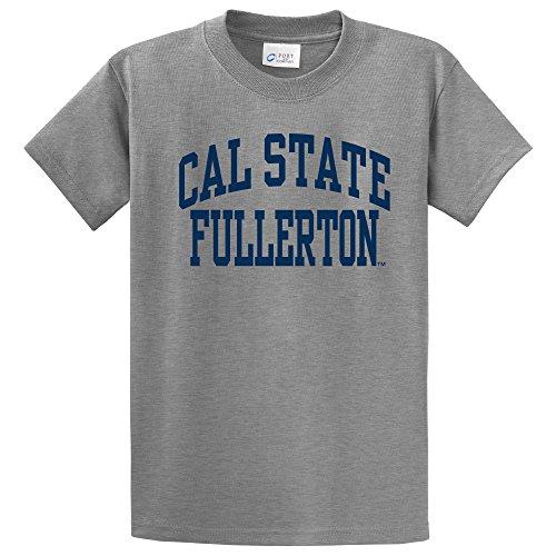 NCAA Cal State Fullerton Titans Short Sleeve Tee, Small, Athletic Heather