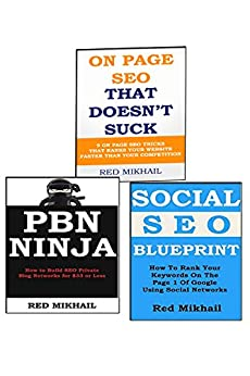 Seach Engine Optimization Trio Bundle: Private Blog Network Ninja + SOCIAL SEO BLUEPRINT + ON PAGE SEO BLUEPRINT by [MM, Red]