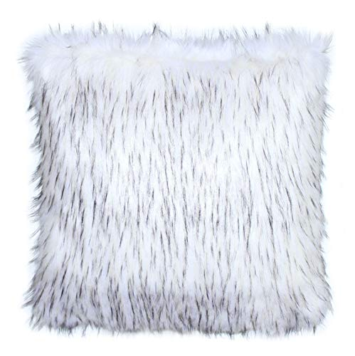 Salvani Inc Norwegian Fox Faux Fur Pillow Cover - Set of ()