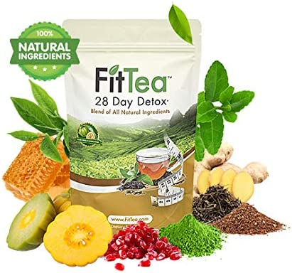 The ORIGINAL Fit Tea 28 Day Detox Tea, Herbal Tea for Colon and Body Cleanse 1