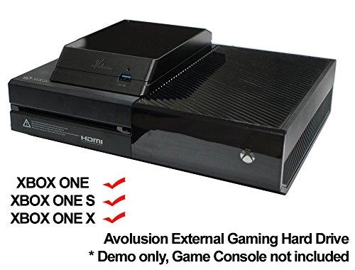 Avolusion HDDGear 2TB (2000GB) USB 3.0 External XBOX Gaming Hard Drive (XBOX Pre-Formatted) - XBOX ONE, XBOX ONE S, XBOX ONE X - 2 Year Warranty by Avolusion (Image #5)