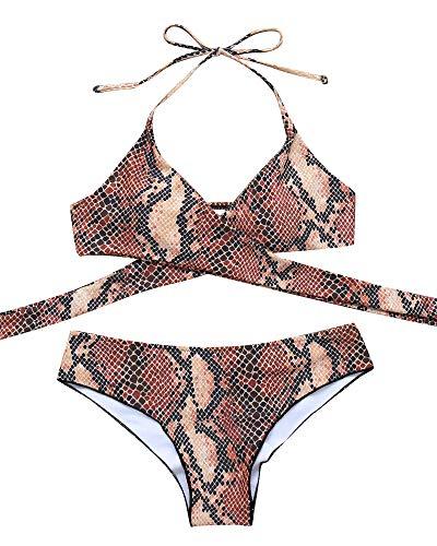 Sexy Piece 2 Unique Bikini - MOOSKINI Womens Padded Push-up Bikini Set Bathing Suits Two Pieces Swimsuit