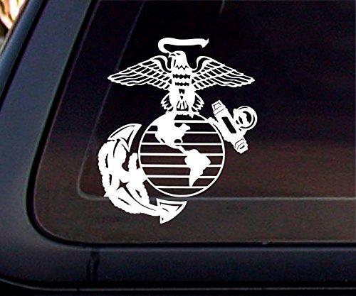 U.S. Marine Corps Semper Fidelis Car Decal / Sticker. US marine corps decal bumper buy - Edwin Group of -