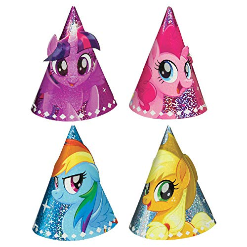 Amscan My Little Pony Friendship Adventures Party Hats -
