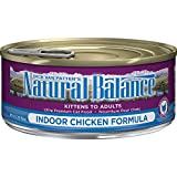 Natural Balance Indoor Formula Wet Cat Food, 5.5-Ounce Can (Pack Of 24) For Sale