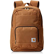 Carhartt Legacy Classic Work Backpack with Padded Laptop Sleeve, Carhartt Brown