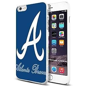 diy zhengMLB Atlanta Braves Baseball Team,Cool iphone 5c Smartphone Case Cover Collector iphone TPU Rubber Case White