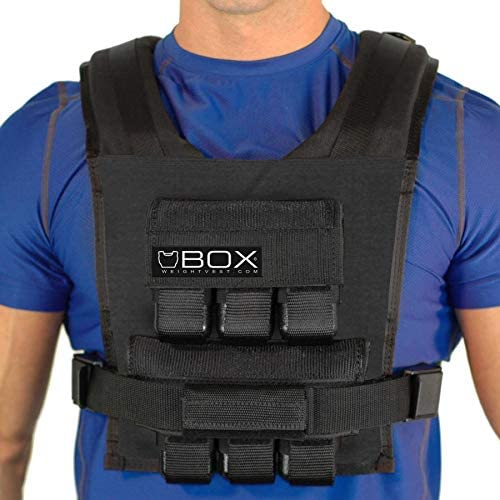 Box 30LB Weight Vest – Made in USA – Gym and Crossfit Ready