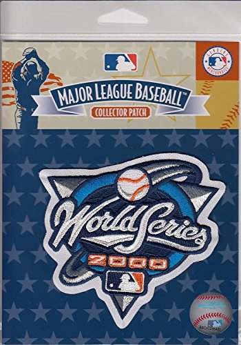 Official Licensed 2000 MLB World Series Patch New York Yankees vs New York Mets Subway Series